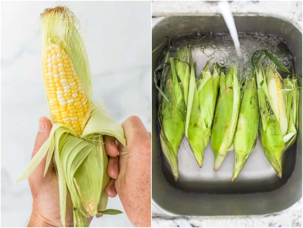 how to prepare to grill corn on the cob