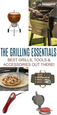 pinterest image for The Grilling Essentials Guide: Best Grilling Tools & Accessories