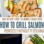 pinterest image for how to grill salmon