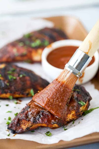 the best bbq chicken recipe slathered with homemade bbq sauce