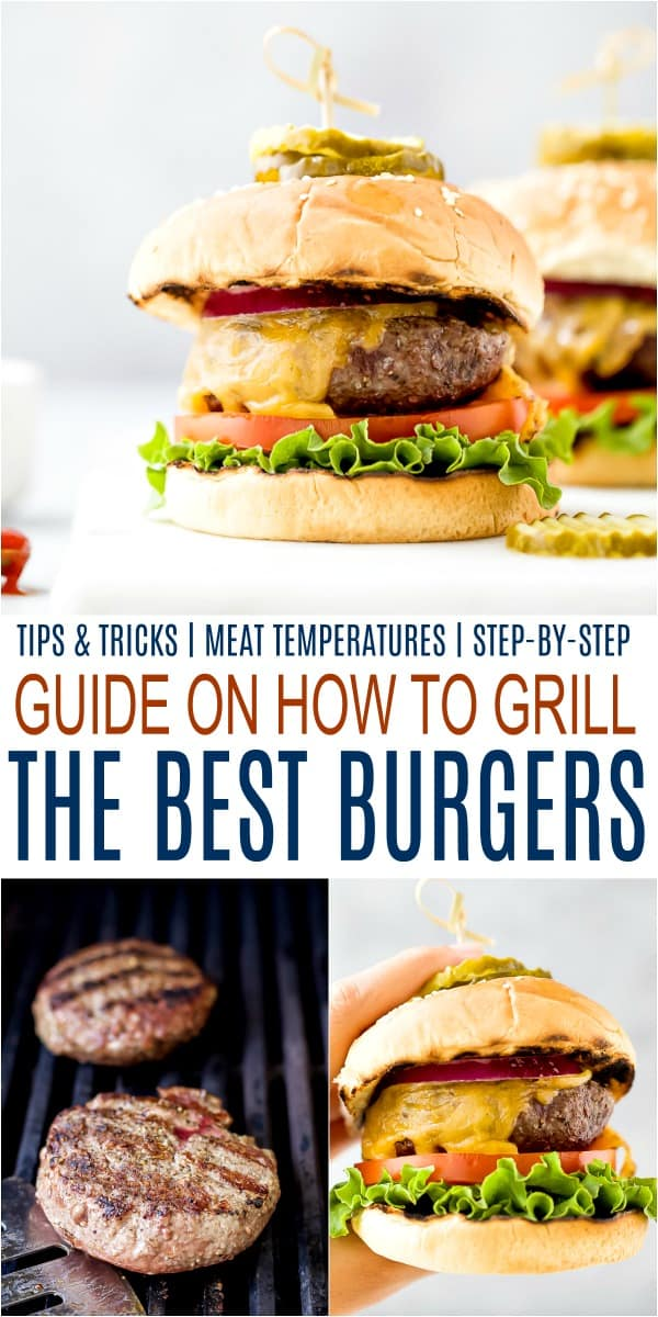 How to Grill the Best Burgers | Easy Recipe for Perfect Grilled Burgers