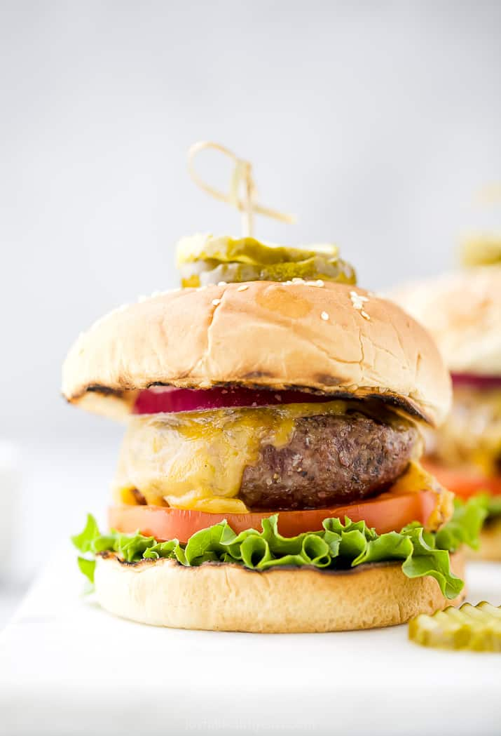 How To Grill The Best Burgers Easy Recipe For Perfect Grilled Burgers