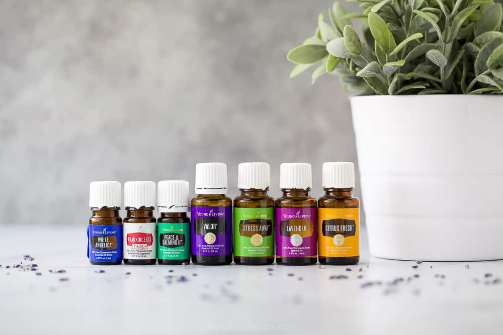 essential oils for calming anxiety
