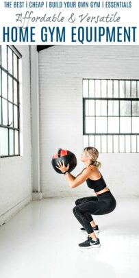 pinterest collage for home gym workout equipment