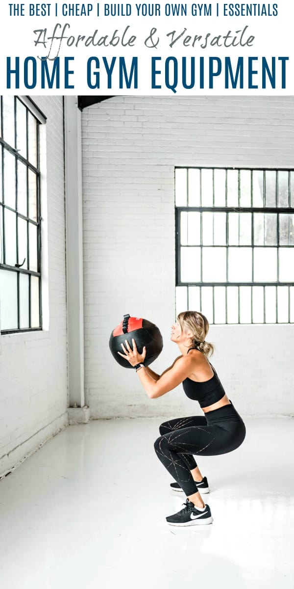 Pinterest collage for Affordable & Versatile Home Gym Equipment