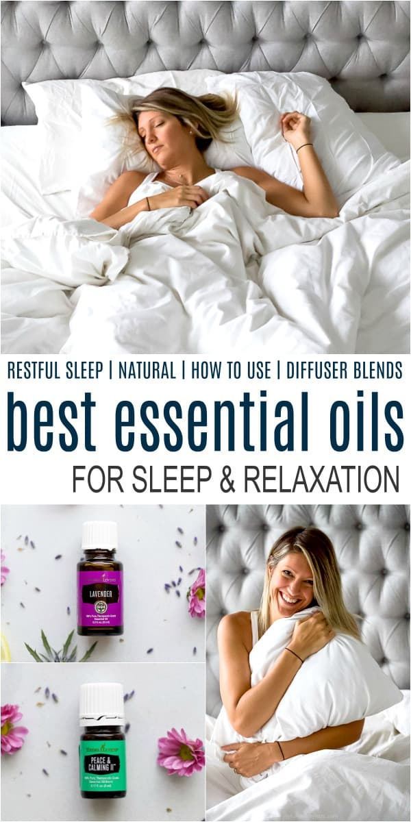 pinterest image for best essential oils for sleep