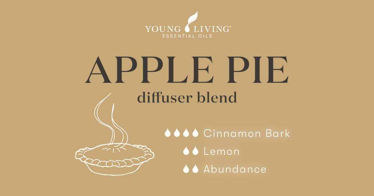 Apple Pie essential oil diffuser blend recipe
