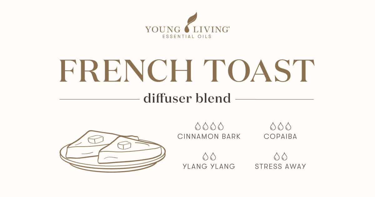 French Toast essential oil diffuser blend recipe