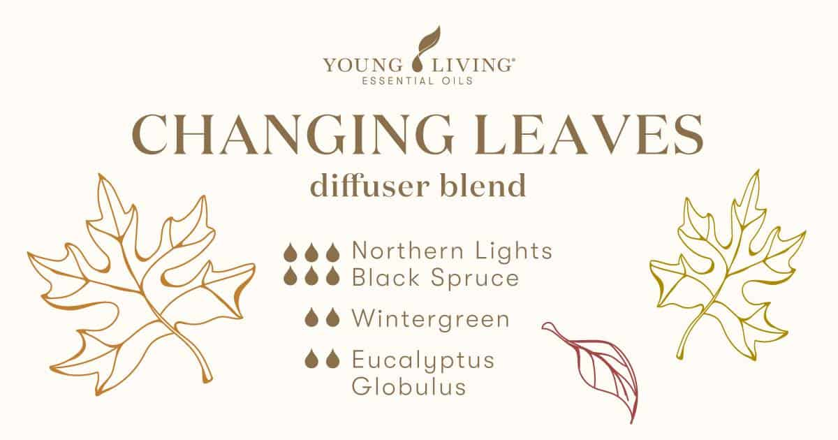 Changing Leaves essential oil diffuser blend recipe