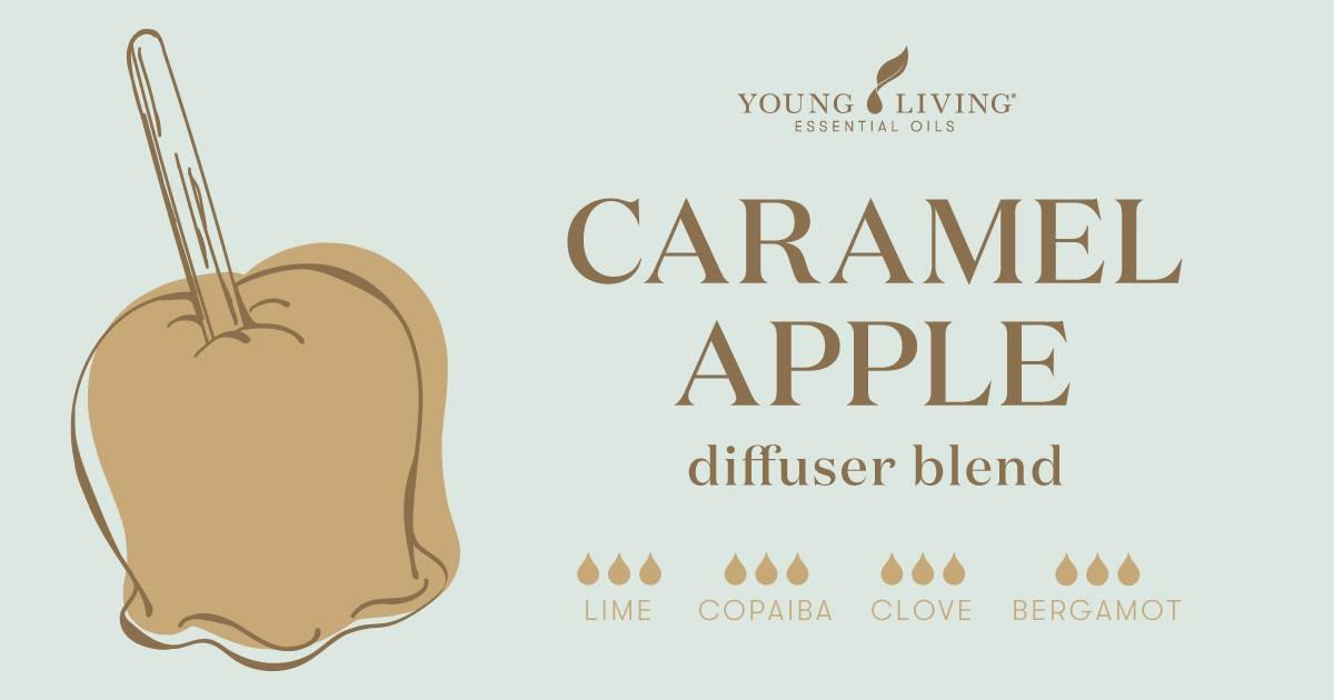 Caramel Apple essential oil diffuser blend recipe