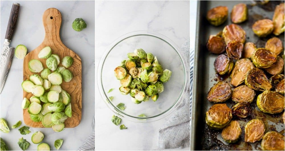 how to make oven roasted brussel sprouts with balsamic