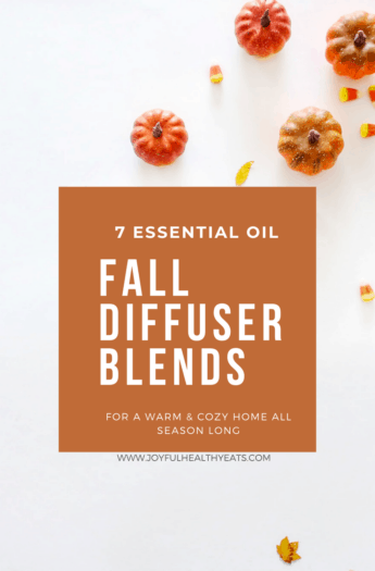 pinterest image for fall diffuser blends