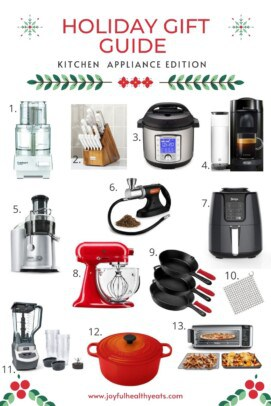 pinterest image for home chef gift guide