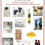 pinterest image for kitchen gift guide