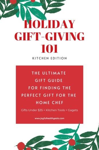 pinterest image for kitchen gift guide