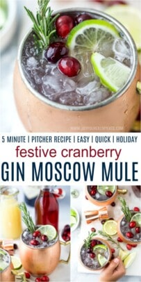 pinterest image for cranberry gin moscow mule