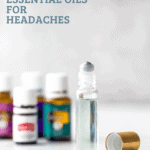 pinterest image for best essential oils for headaches