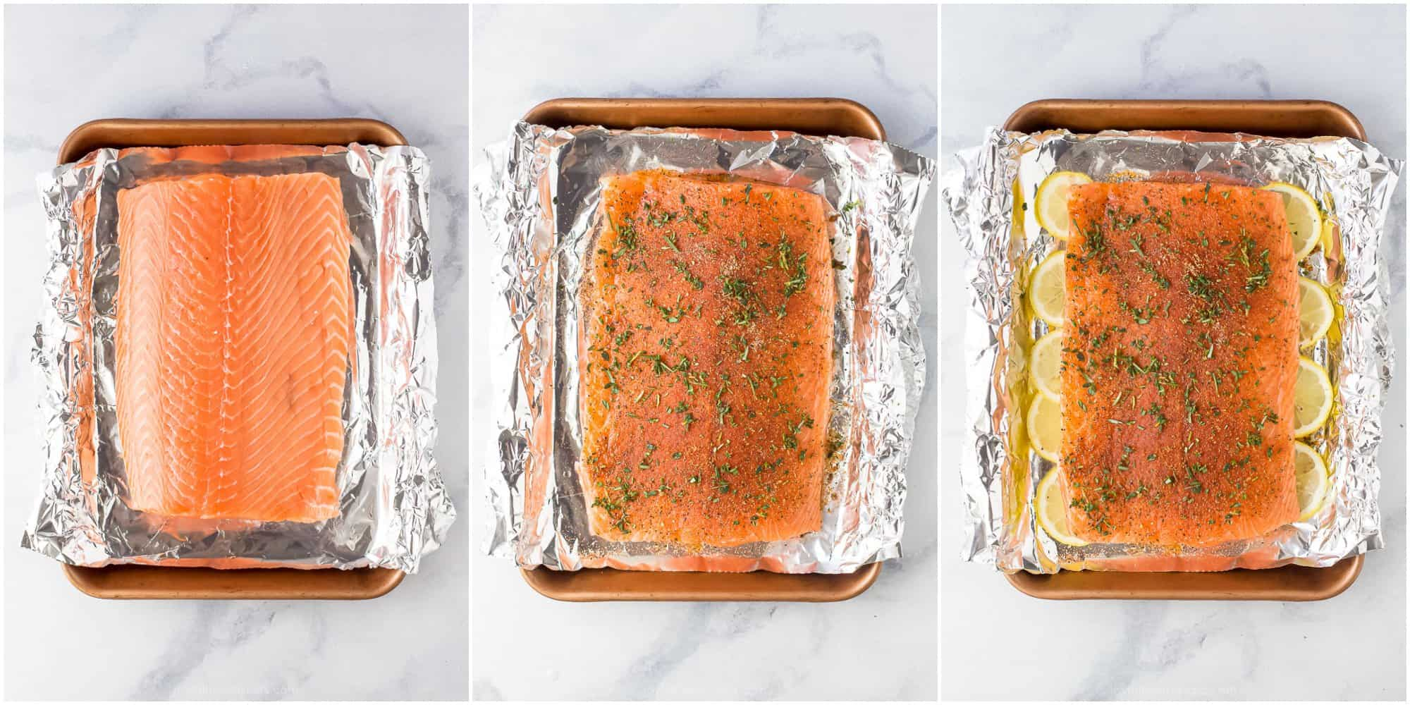 how to make whole30 baked salmon