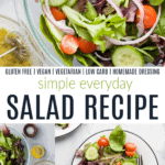 pinterest image for everyday salad recipe