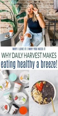 pinterest image for daily harvest post
