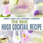 pinterst image for hugo cocktail