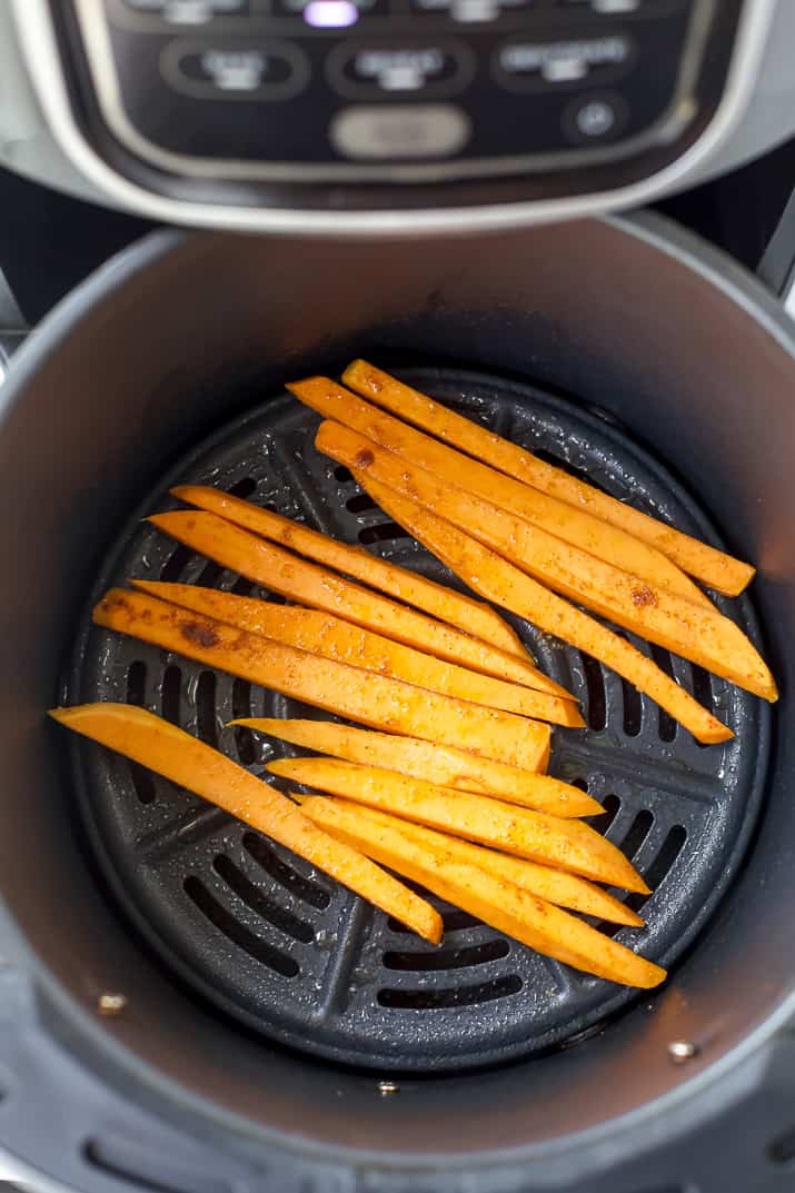 sweet potato fries in the air fryer