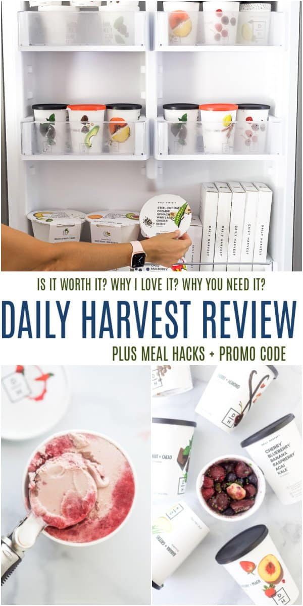 pinterest image for daily harvest review
